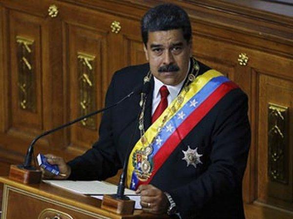 """Глава Венесуэлы назвал вице-президента США """"ядовитой гадюкой"""""""