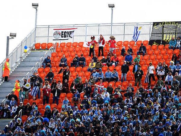 FIFA займется расследованием из-за полупустых трибун на матче Египет - Уругвай