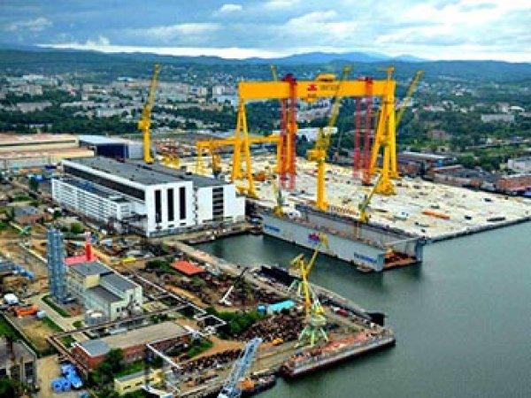 На стройке крупнейшей судоверфи в России похитили 7,5 млрд рублей