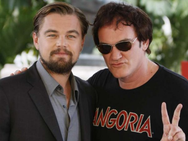 Ди Каприо показал фото с Бредом Питтом со съемок нового фильма Тарантино