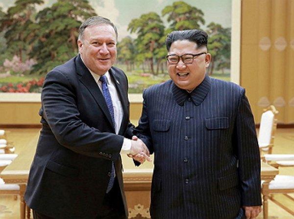 Помпео в шутку заявил Ким Чен Ыну о попытке его убить