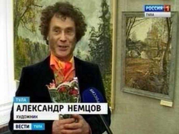 В тульской детской библиотеке повесили картину со святым Путиным
