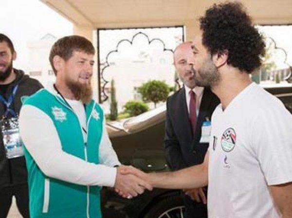 В сборной Египта прокомментировали возможность ухода Салаха из-за Кадырова