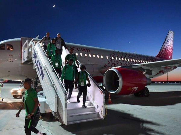 Самолет с игроками сборной Саудовской Аравии загорелся при посадке в Ростове