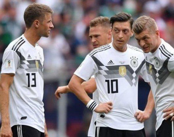 Германия в меньшинстве на последней минуте вырвала победу у Швеции на ЧМ-2018