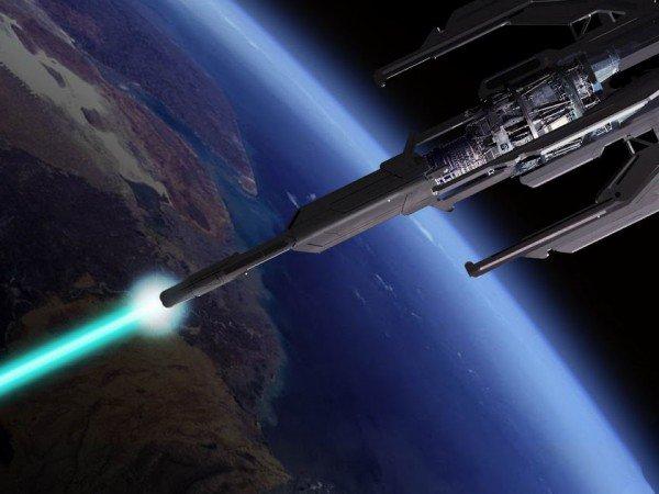 В Роскосмосе рассказали о лазерной пушке для уничтожения космического мусора