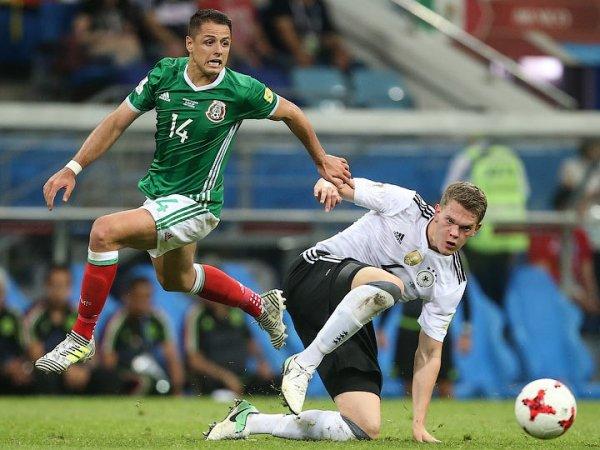 Германия - Мексика: счет 0:1, обзор матча от 17.06.2018, видео голов, результат ЧМ (ВИДЕО)