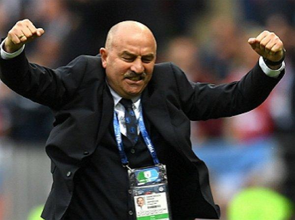 Черчесов рассказал о звонке Путина после победного матча над Саудовской Аравией на ЧМ-2018