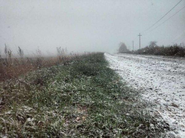 В первый день лета в Татарстане, Башкирии и на Урале выпал снег