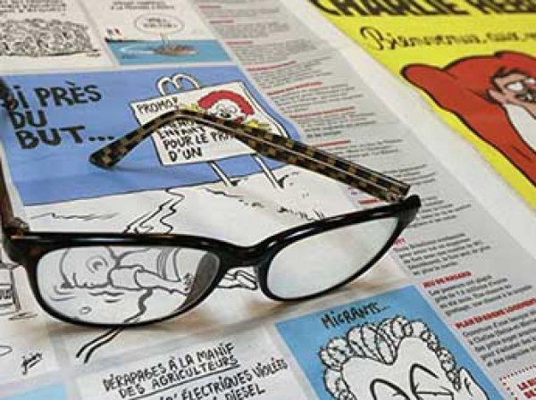Новый номер Charlie Hebdo вышел с карикатурой Путина на танке на обложке