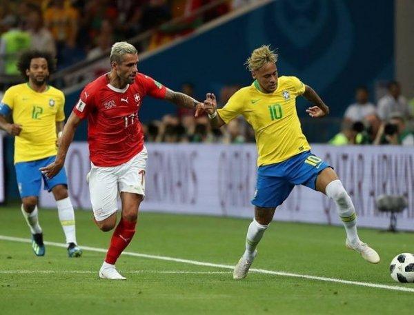 Бразилия дожала Коста-Рику на ЧМ-2018 со счетом 2:0. Неймар наконец забил