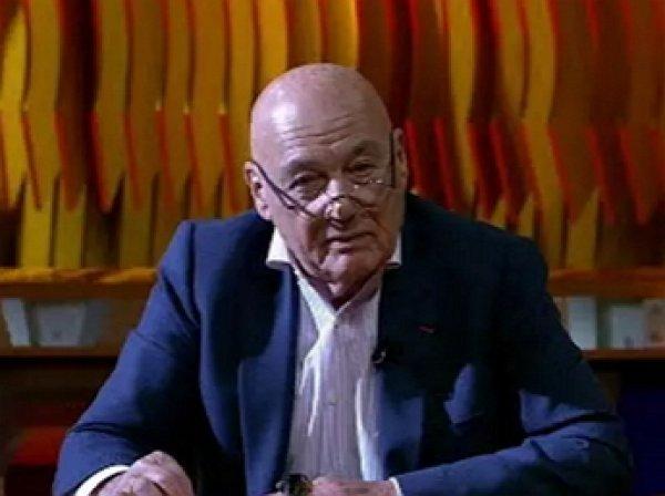 """""""Первый канал"""" объяснил, почему не пустил в эфир выпуск программы Познера с Лимоновым"""