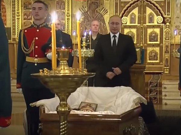 Похороны Говорухина: Путин простился с режиссером (ВИДЕО)