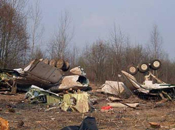 Польские эксперты нашли следы взрывчатки на обломках самолета Качиньского