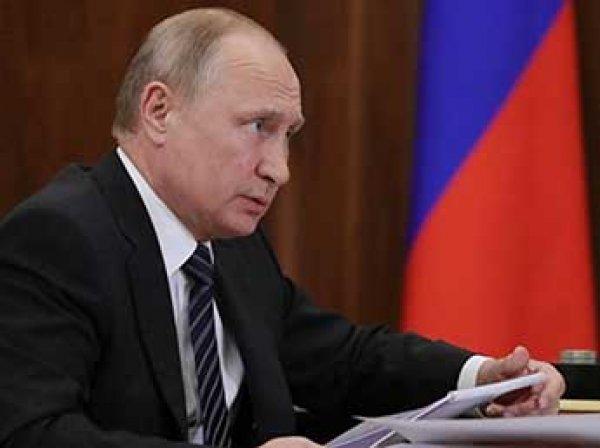 Путин заявил, что страны Запада сами страдают от санкций против РФ