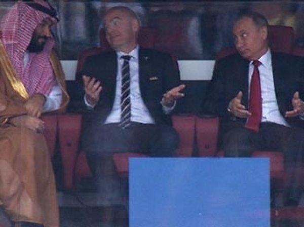"""""""За победу не извиняются"""": Песков объяснил жесты Путина в адрес саудовского принца"""