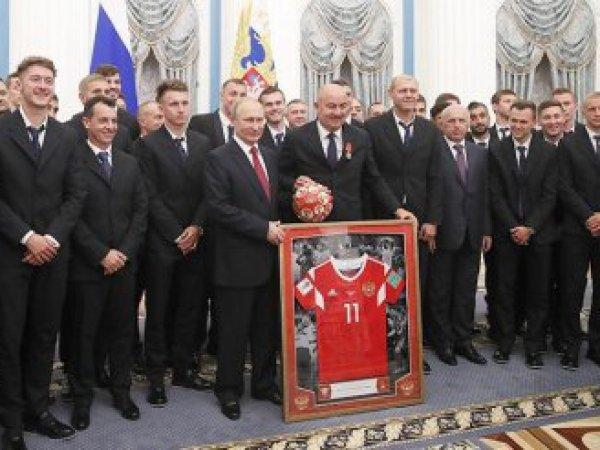 РФС вмешался в конфликт с награждением футболистов сборной России