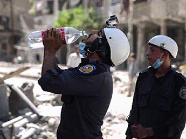 """Почти половину """"Белых касок"""" не удалось эвакуировать из Сирии"""