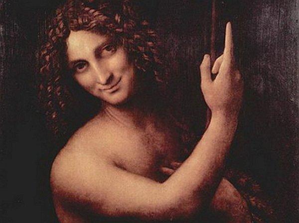 На картине Леонардо Да Винчи обнаружен лик пришельца