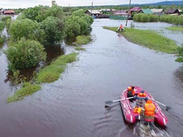 В Забайкалье паводком смыло ж/д мост, тысячи человек эвакуированы из-за наводнения