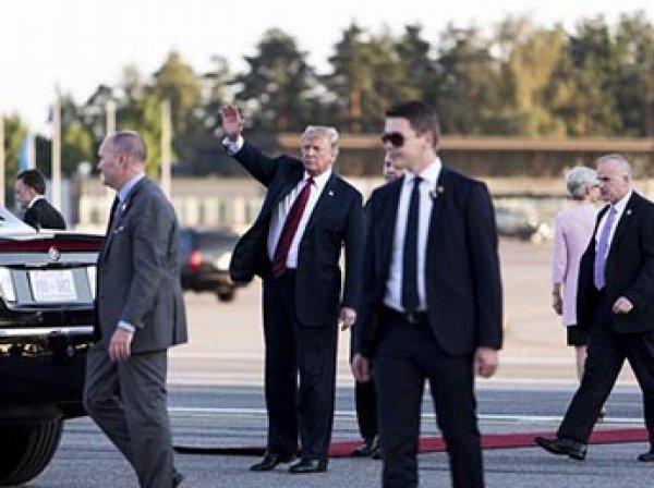 Агент Секретной службы США умер после поездки с Трампом в Британию