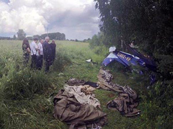 Под Кировом разбился самолет с замполпреда в ПФО, крушение попало на видео