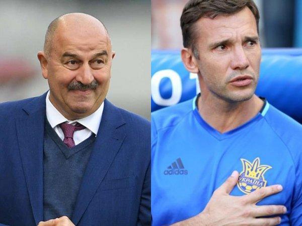 Украина ополчилась на тренера сборной по футболу Шевченко, давшего эффективные советы Черчесову