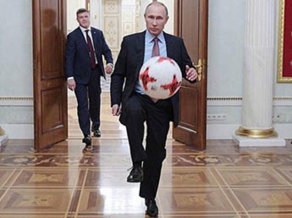 В Кремле рассказали, как Путин отреагировал на проигрыш сборной России