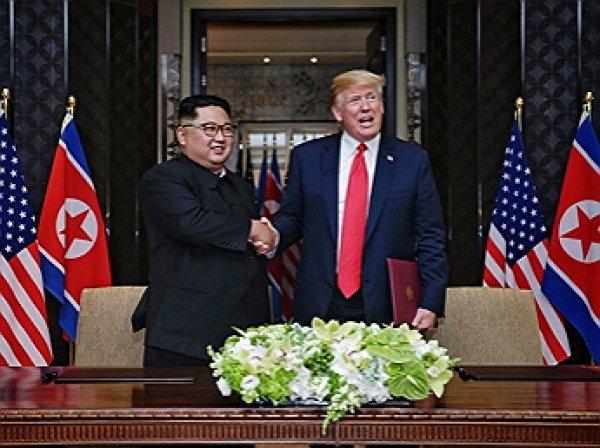 Трамп опубликовал «приятную записку» от Ким Чен Ына