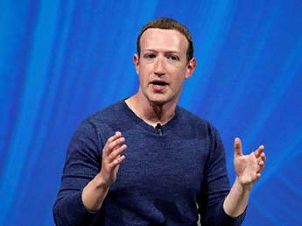 Цукерберг потерял ,8 млрд от падения акций Facebook