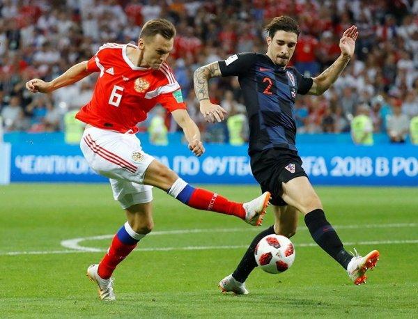 Россия - Хорватия: счет 3:4, обзор матча от 07.07.2018, видео голов, результат (ВИДЕО)