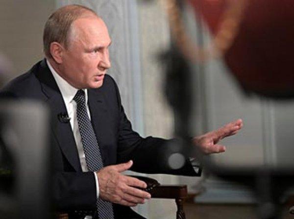 Киевский канал назвал Путина президентом Украины