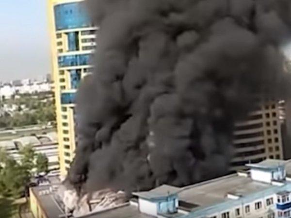 Пожар в Реутово сегодня, 30 августа 2018: у здания теннисного клуба провалилась крыша (ФОТО, ВИДЕО)