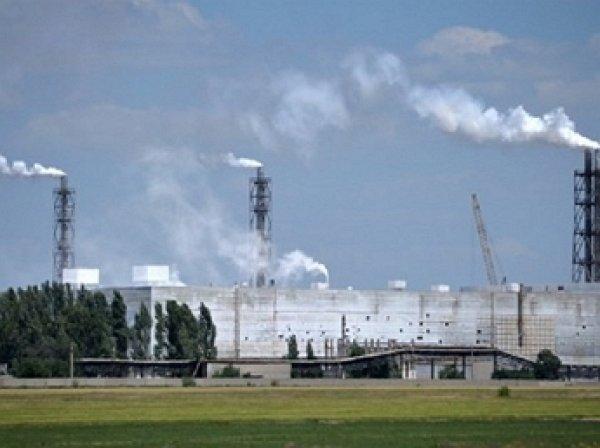 В Крыму произошел выброс неизвестного вещества в атмосферу