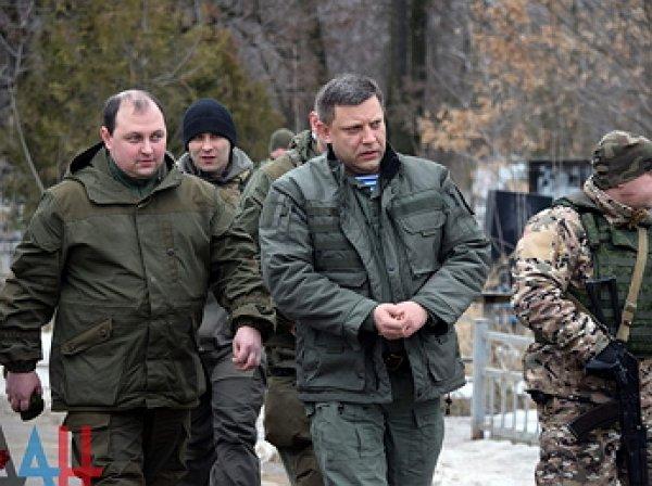 Названо имя нового главы ДНР