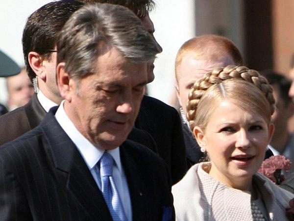 Ющенко и Тимошенко не сговариваясь сравнили украинцев с рабами