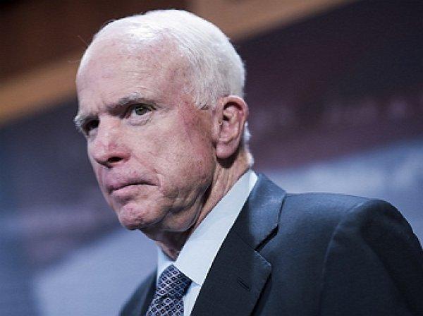 Опубликовано прощальное обращение сенатора Маккейна