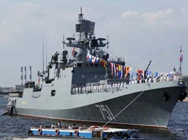 Российский фрегат выследил в Средиземном море американскую субмарину