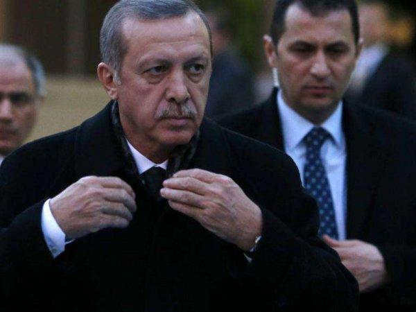 """Соцсети обсуждают странную """"дронобойку"""" охранника Эрдогана"""