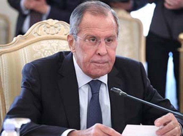 Лавров рассказал, как России отреагирует на новые санкции США