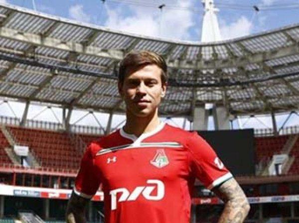 Футболиста Смолова лишили водительских прав за ДТП