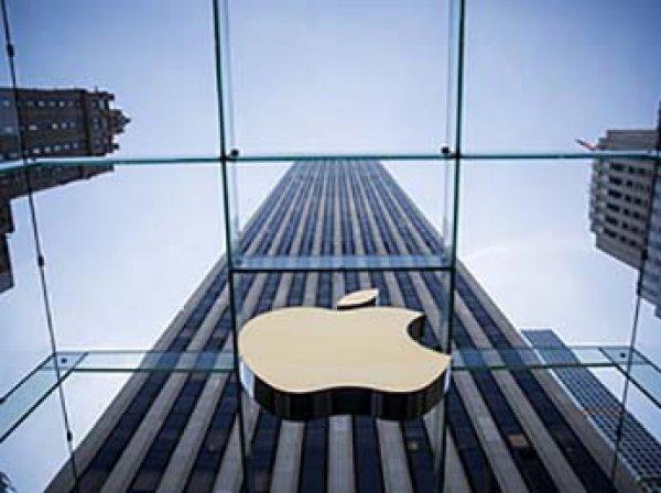 Рыночная стоимость Apple впервые в мире достигла  трлн