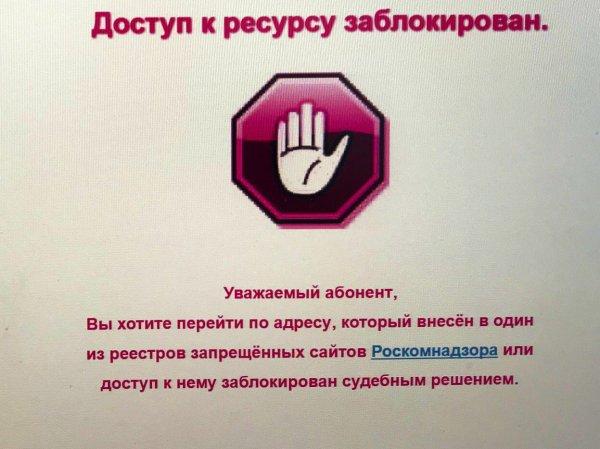 СМИ: 19 млн сайтов могут быть заблокированы из-за инициативы Минкомсвязи