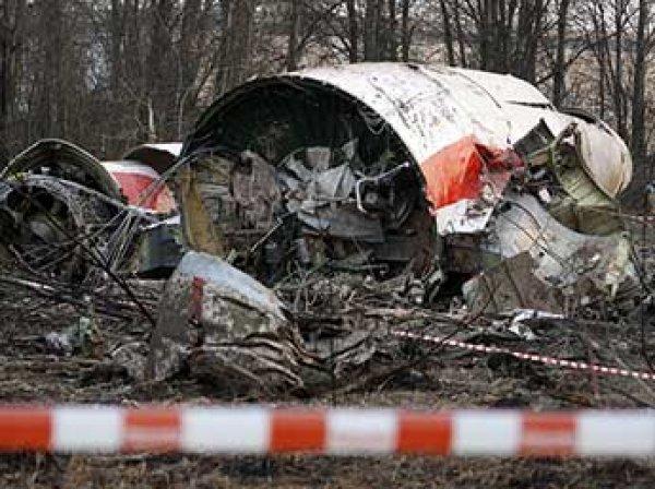 СКР не подтвердил версию Польши о взрыве на борту самолета Качиньского