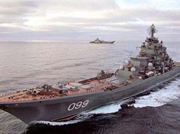 Россия развернула у берегов Сирии мощнейшую группировку военных кораблей