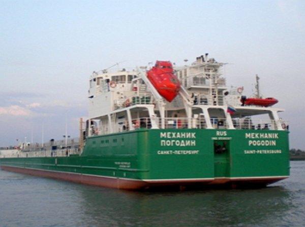 Украина заблокировала танкер «Механик Погодин» на три года