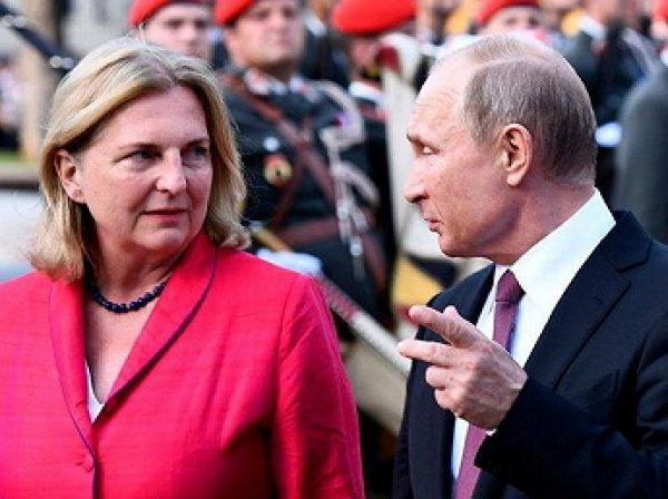 Шеф-повар рассказал о меню на свадьбе главы МИД Австрии c участием Путина