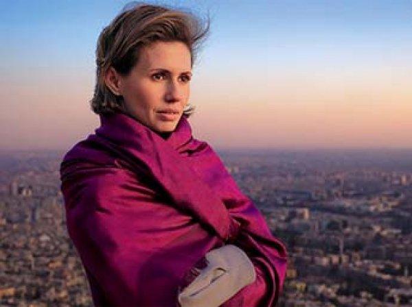 Жену Башара Асада госпитализировали с раком