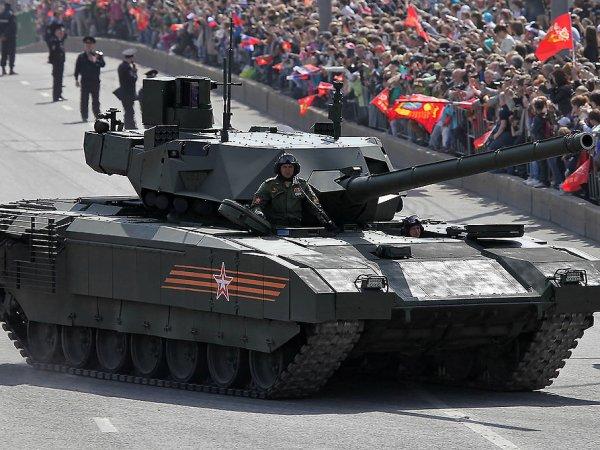 """В США признали бесполезным российский танк """"Армата"""""""