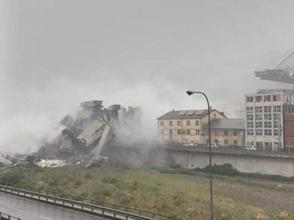 Обрушение моста в Италии 14 августа: в Генуе погибли десятки людей